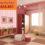 Mẫu giấy dán tường đẹp cho quán trà sữa – Tư vấn: 0902.868.883